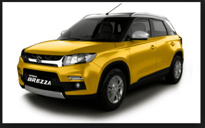 Hottest selling subcompact  SUV Maruti Suzuki Vitara Brezza Launched in India
