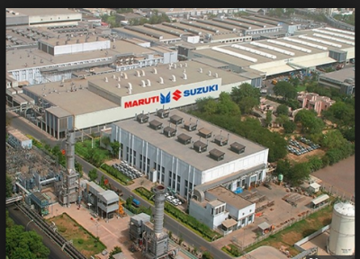 Maruti Suzuki India meets its energy need by harness solar power for manufacturing cars
