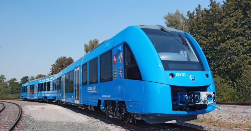 First train running from hydrogen inaugurated, will travel up to 1000 km at a time