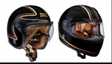 These limited edition helmets launched by Royal Enfield, were presented at Goa Riders Mania