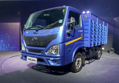 Eicher introduces the truck with great mileage