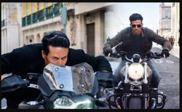 Tiger and Hrithik will be seen doing stunts with a motorcycle in movie 'War'