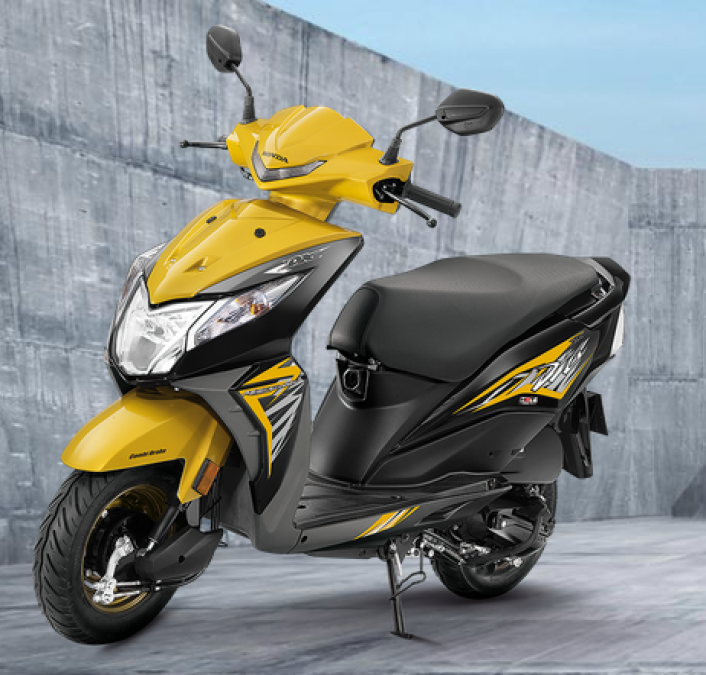 Get huge benefits on the purchase of Honda Dio, know how to bring it home for just Rs 1100