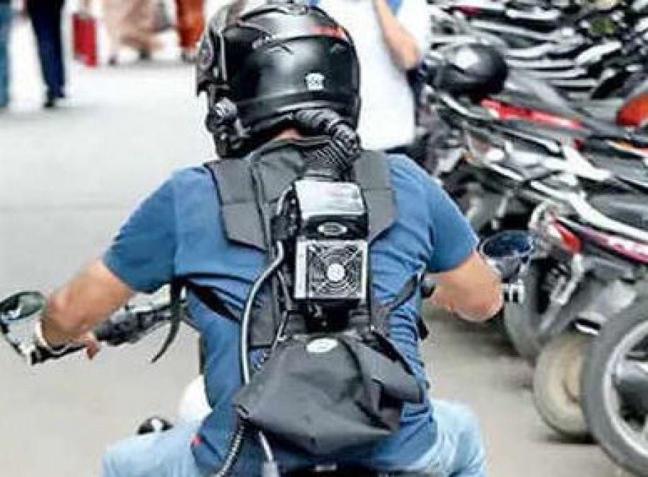 AC Helmet: Bengaluru techie designs AC helmets to make rider comfortable
