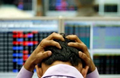 Corona wreaks havoc on stock market again, Sensex drops 627 points