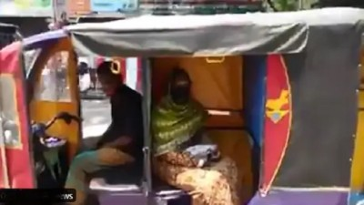 Video: Rickshaw's design changed for social distancing, Anand Mahindra offered job