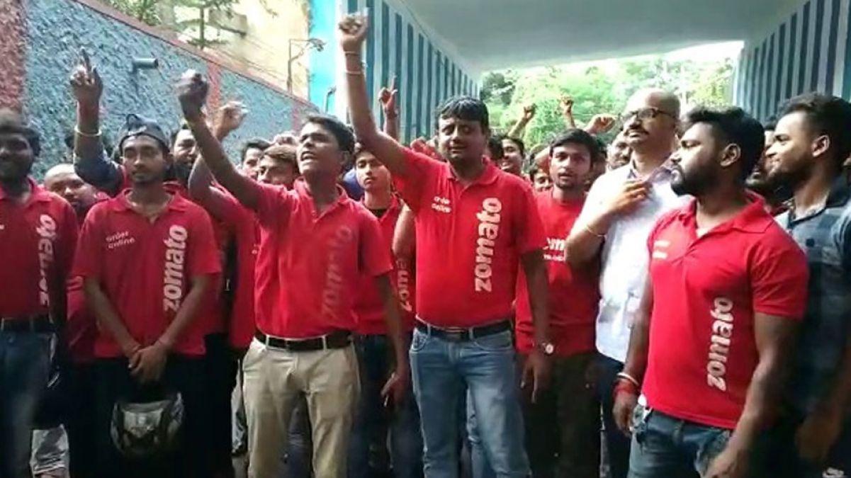 पिछले सात दिनों से हड़ताल पर बैठे Zomato के सैकड़ों कार्यकर्ता, कंपनी के सामने रखी ये शर्त