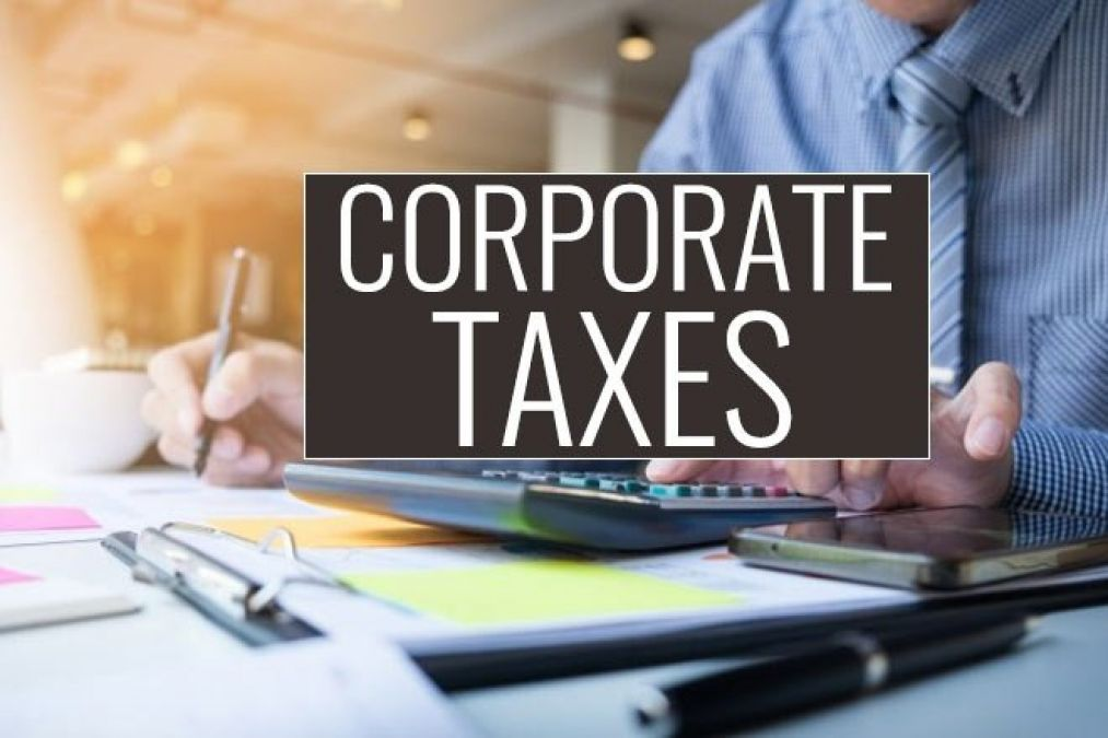 Finance Minister Nirmala Sitharaman says corporate tax for companies to be cut gradually