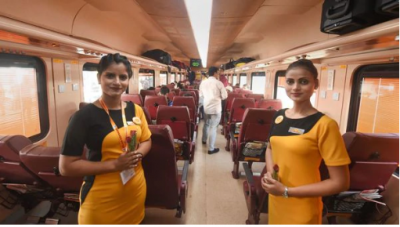 The country's third private train will run on this route, aeroplane like facilities will be available