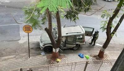 CCTV footage reveals secret of suspicious car parked at Mukesh Ambani's residence