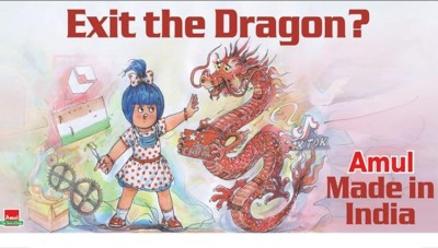 Twitter blocked Amul account for anti china posts