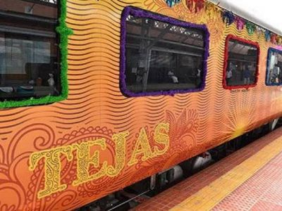 Tejas Express earned Rs 70 lakh in the first month itself