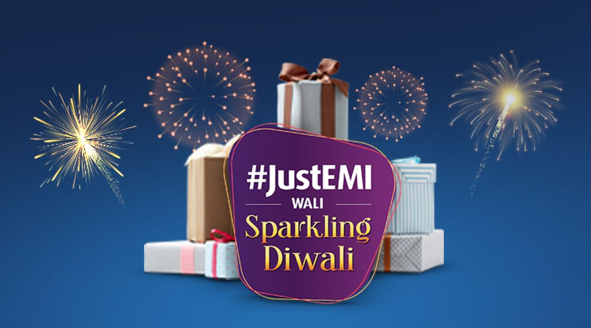 Bajaj Finserv aims to redefine shopping experience with the launch of its #JustEMI wali Sparkling Diwali