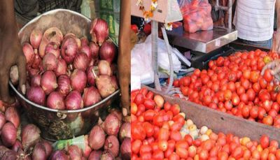 Onion-tomato prices gain fire, know what are the prices today!