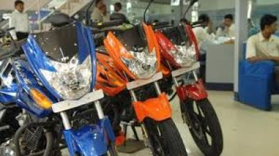 The country's two-wheeler industry is also in recession