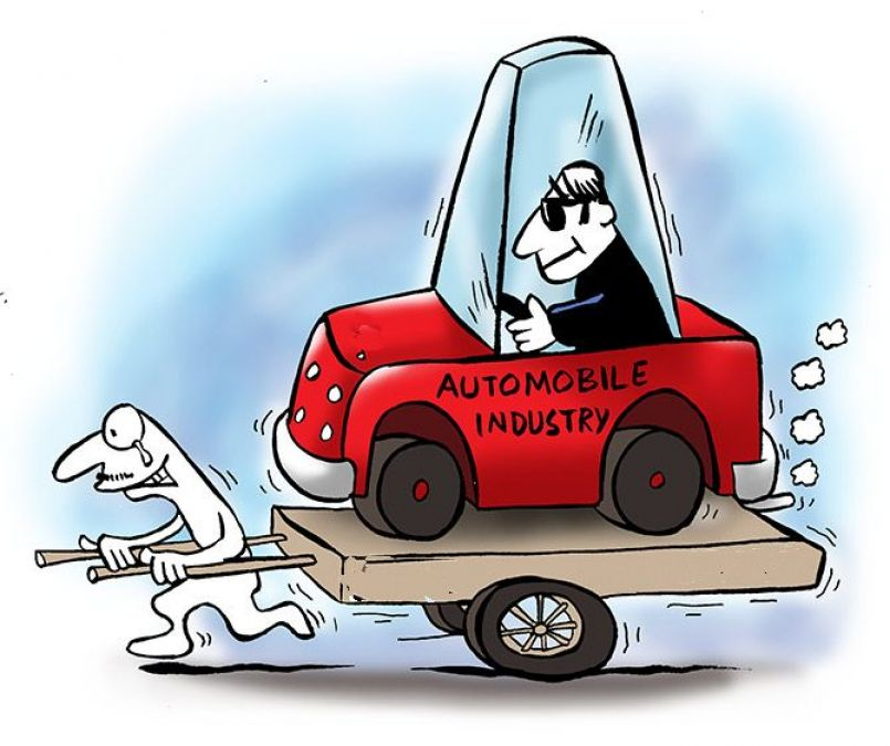 वाहन उद्योग ने मंदी से उबरने के लिए सरकार से मांगी मदद