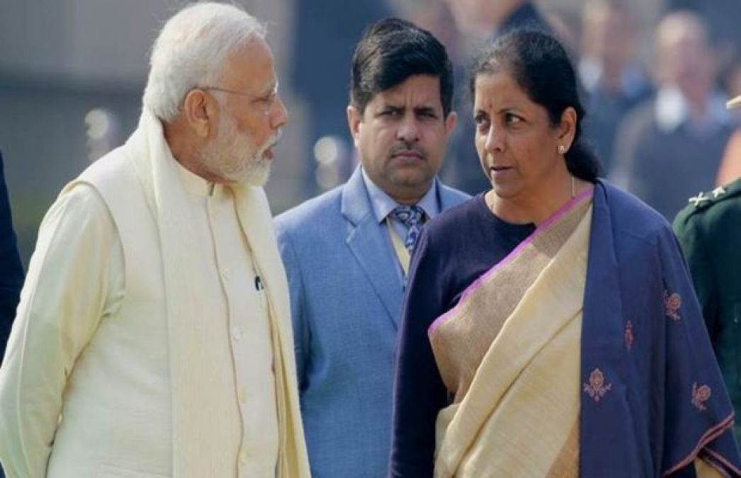 PM Modi meets with Finance Minister Sitharaman to discuss