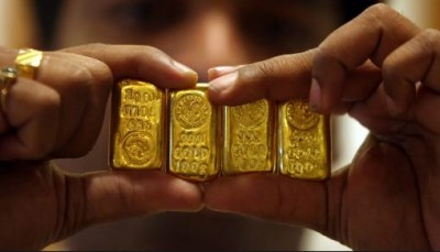 Gold price may fall up to Rs. 45 thousand per 10 gram