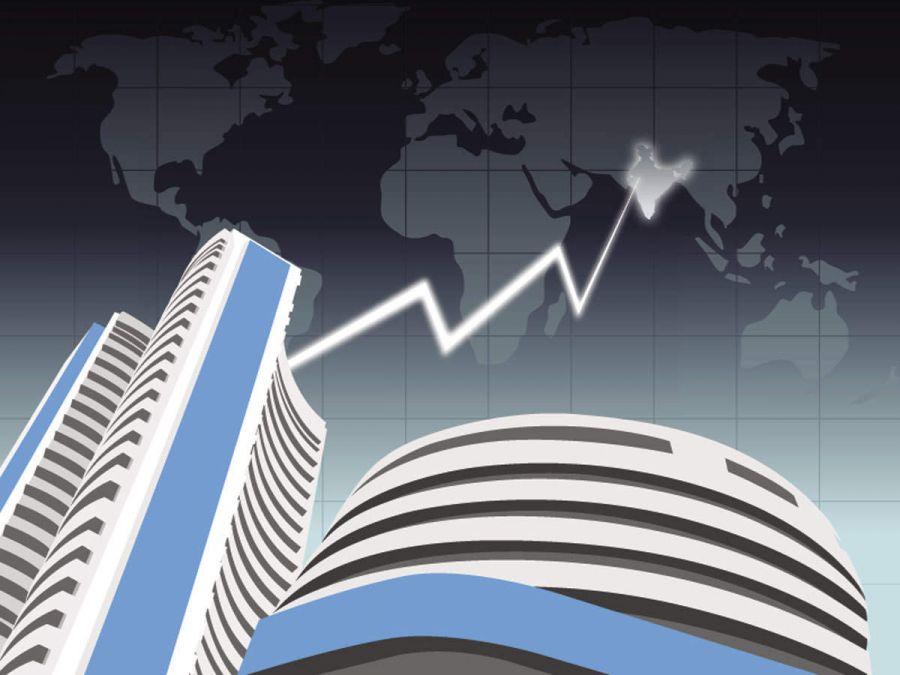 Stock Market: Sensex rises 170 points, Nifty around 12,100