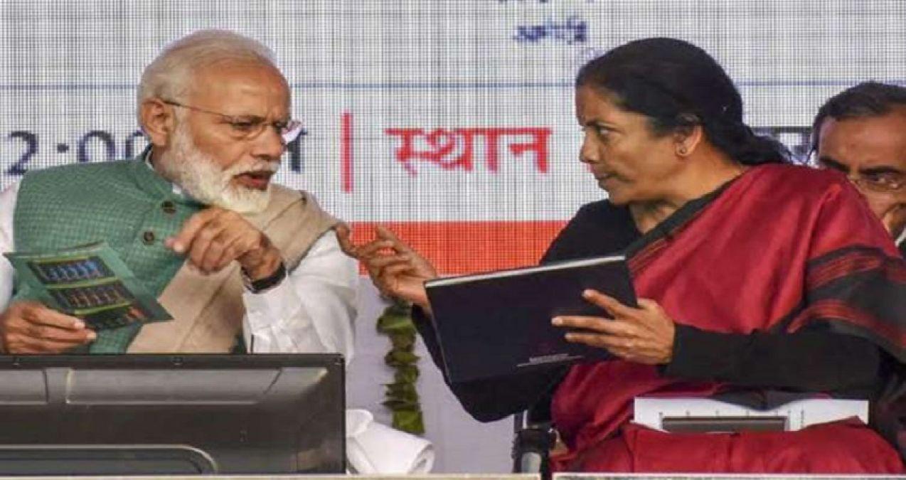 Modi government will take big decisions to improve economic condition, Finance Minister gave hints