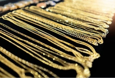 Gold futures prices increases, silver falls