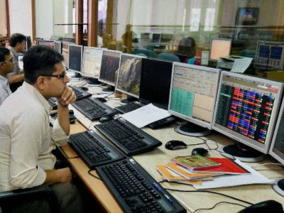 Sensex opens up 150 points, gains in stock market