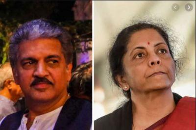 Anand Mahindra hopes for budget from Finance Minister Nirmala Sitharaman