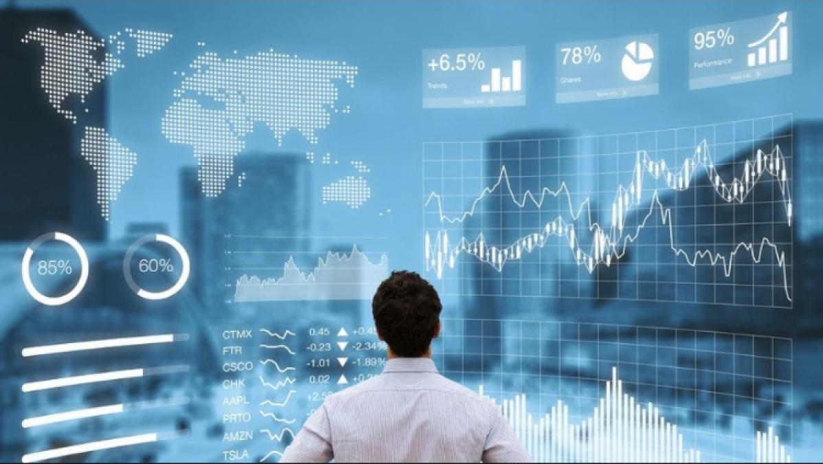 शेयर बाजार में गिरावट का दौर जारी, आज भी हरे निशान में खुला सेंसेक्स