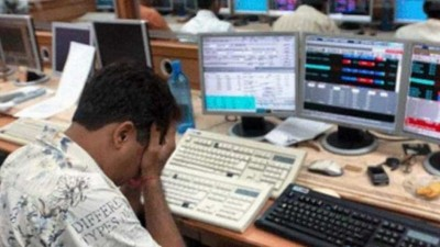 Sensex drops to 3100 points as effect of Corona Virus