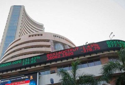 Stock market continues to fall, Sensex drops 2100 points