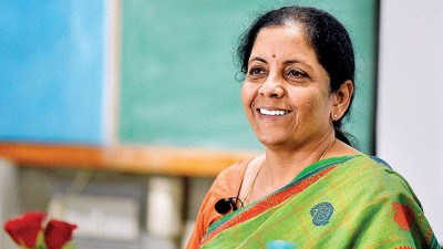 Finance Minister Nirmala Sitharaman did such work for safety of medical staff
