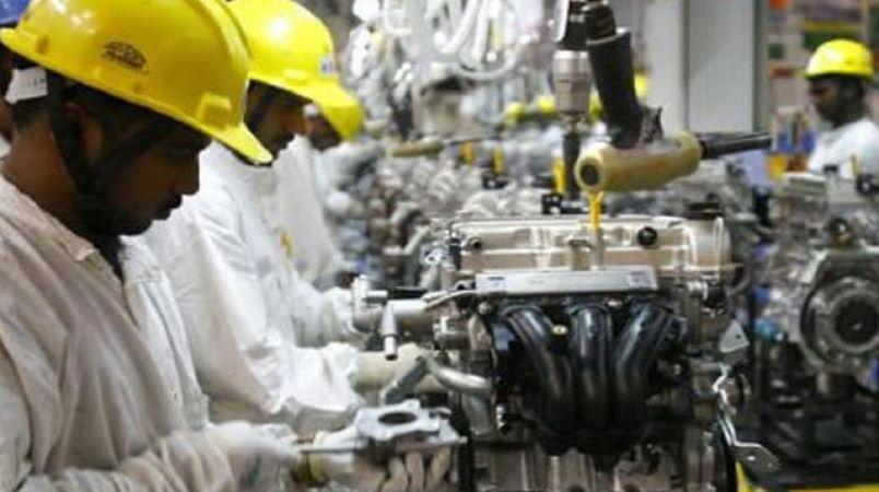 औद्योगिक उत्पादन में गिरावट