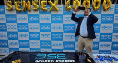 Sensex once again crossed the 40,000 mark in the market after PM Modi's swearing ceremony