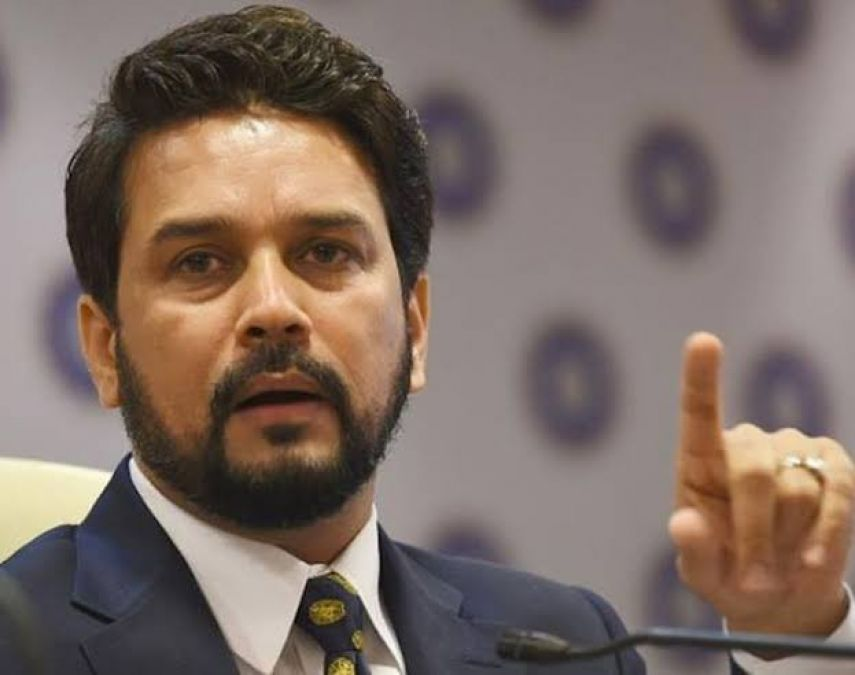 Anurag Thakur held this person responsible for the PMC bank