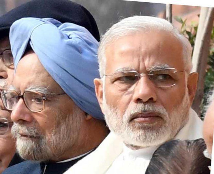 Manmohan targets Modi government over economic slowdown