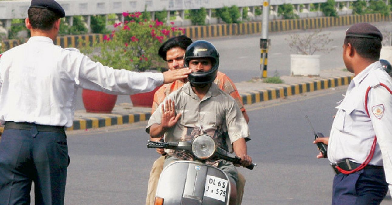 Police of these two states became rich through challan