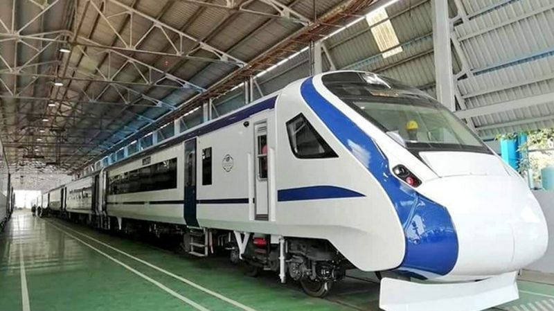 Train 18 becomes the fastest train in India with the speed of 180 km/h