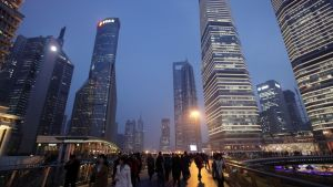 China GDP grew 6.8 percent in the fourth quarter