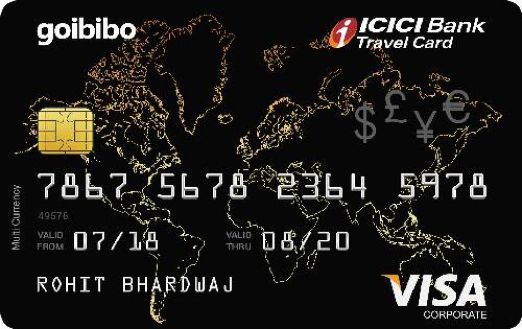 Good news for travel enthusiasts, ICICI Bank launches co-branded travel card with Goibibo