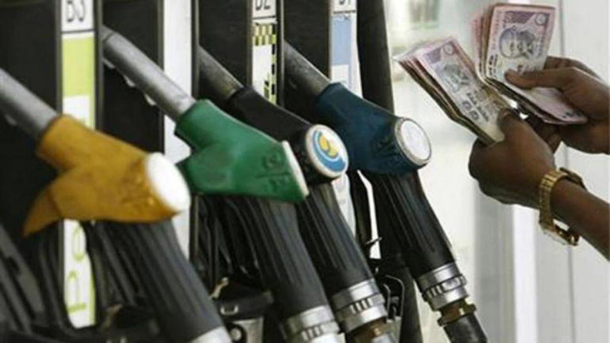 Petrol price decreases, diesel remains unchanged  on Saturday