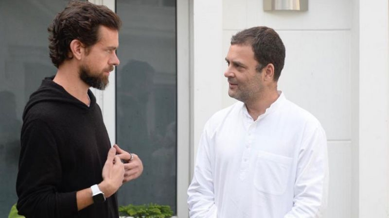 Twitter CEO Jack Dorsey meets Rahul Gandhi, explains him way to tackle menace of fake news