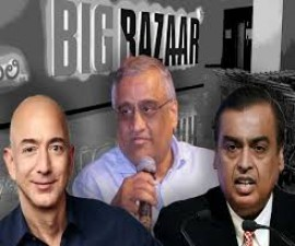 Amazon stalling the future deal with Reliance puts Big Bazaar owner in trouble