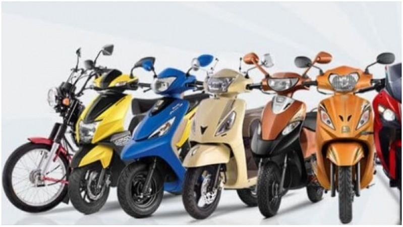 टीवीएस मोटर कुल बिक्री में हुई बढ़त