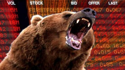 Sensex falls 534 Pts  On Weak Global Cues; All sectoral indices end in red
