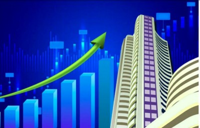 Sensex closes 77 pts higher; Adani Group stocks fall up to 9 pc