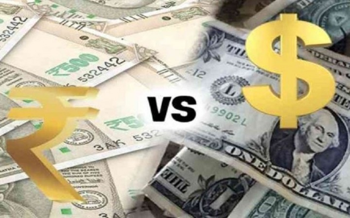 अमेरिकी डॉलर के मुकाबले 1 पैसे की गिरावट पर बंद हुआ रुपया