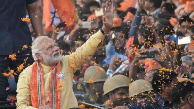 Investors & Markets celebrates BJP's grant victory in UP & Uttarakhand; Nifty touches new high of 9,123 & Sensex bull run to 616 points