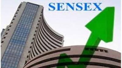 Sensex, Nifty rise; RIL Gains 2 percent