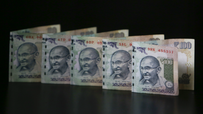 Indian National Rupee treads at 74.10 versus the US dollar