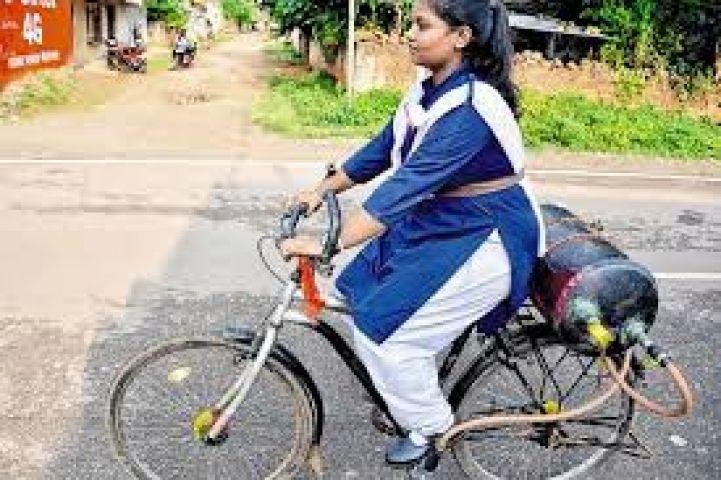 अब आ गई हवा से चलने वाली सायकल